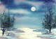 Full Moon Winterscape  **SOLD**