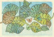 Butterflies and Leaves #1